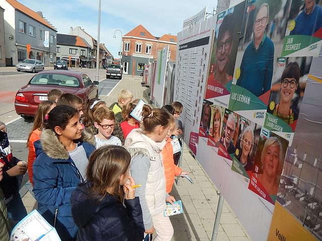 20181008 Op stap in onze gemeente : verkiezingen en verkeer