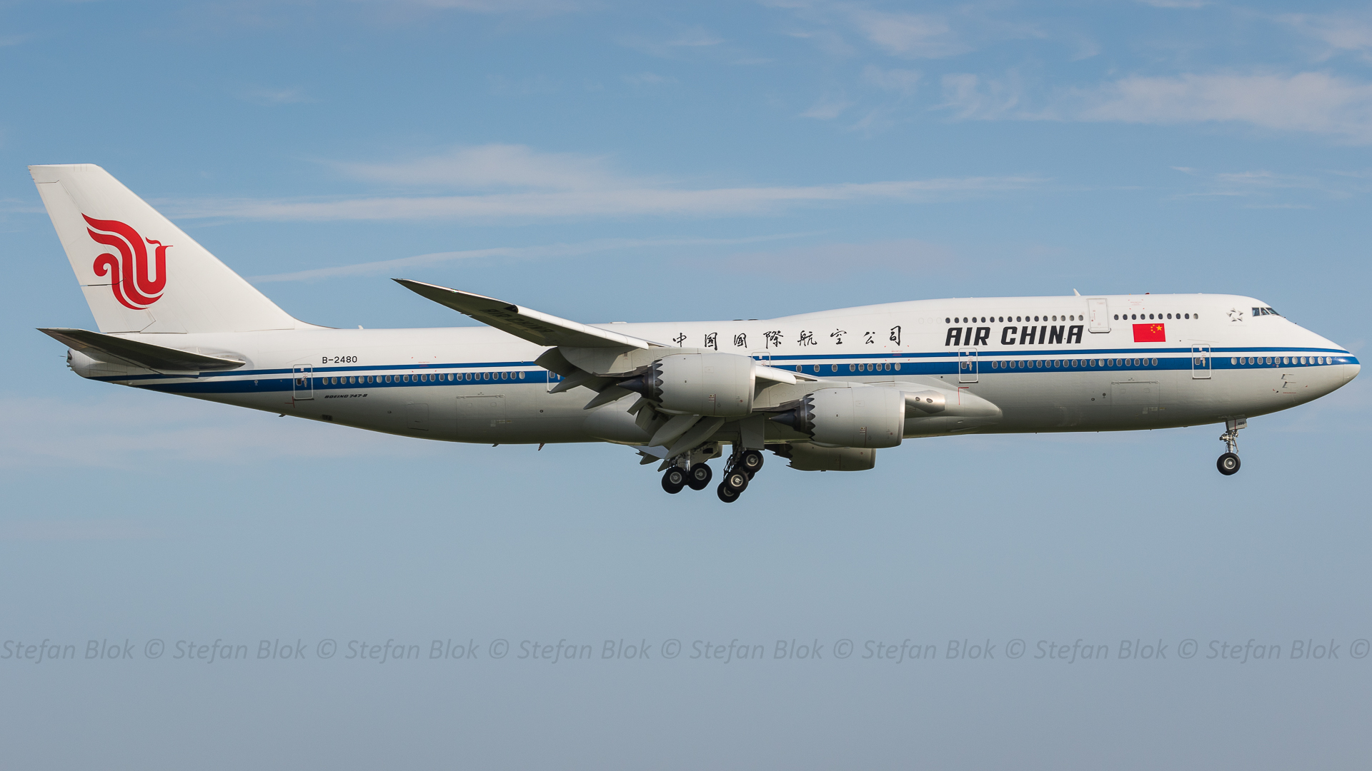 B-2480 Air China Boeing 747-89L