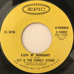 SLY & THE FA,ILY STONE:FAMILY AFFAIR(LABEL SIDE-B)