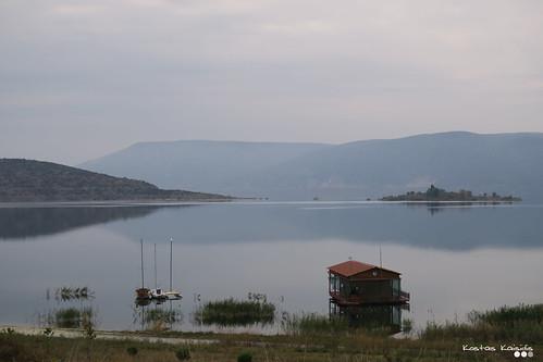 Lake Vegoritida, on an Autumn day...