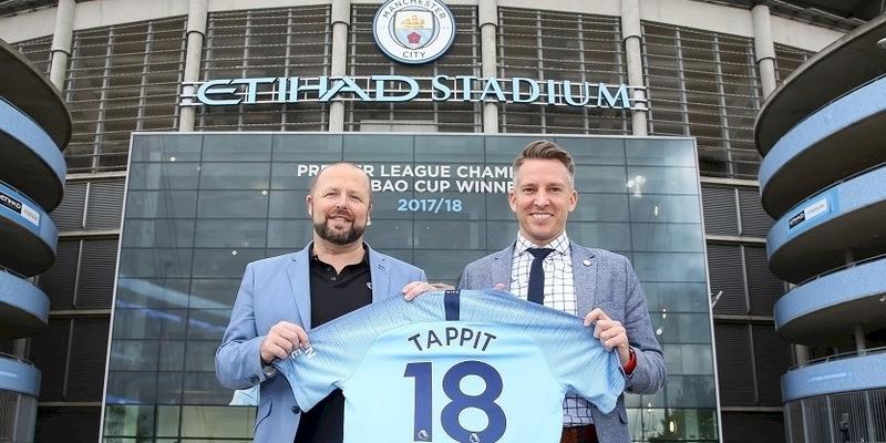 Man City mengumumkan kemitraan dengan Tappit