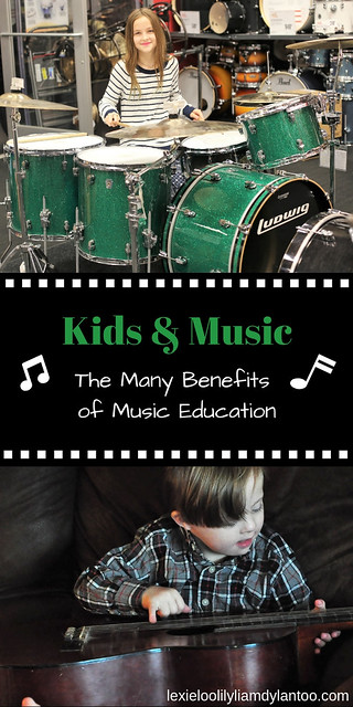 Kids & Music: The Many Benefits of Music Education {Featuring @guitarcenter #GuitarCenter AD} #parenting #music #musiclessons