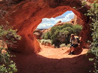 Elephant Arch Sandstone Mountain