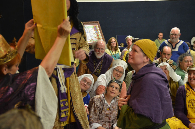 Being Elevated to the Calontir Order of the Golden Lily