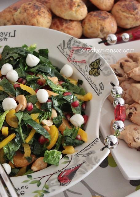 ıspanak salatası (2)