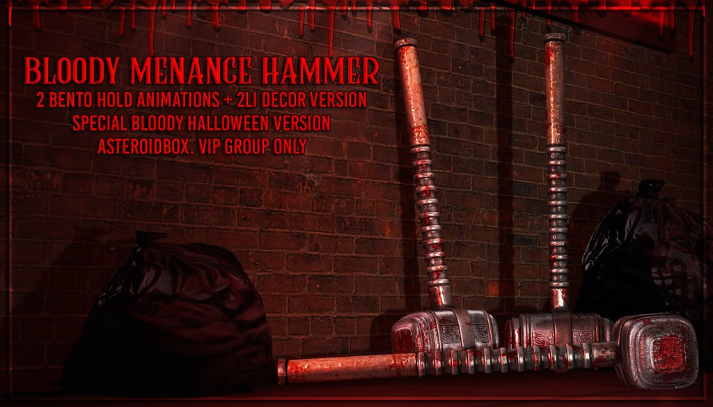 AsteroidBox. Bloody Menace Hammer – VIP Group Gift