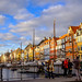 Nyhavn, Copenhagen by Olivera White