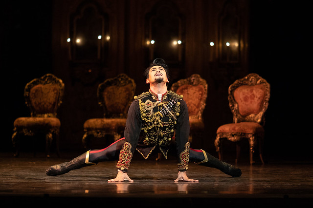 Ryoichi Hirano as Crown Prince Rudolf in Mayerling, The Royal Ballet © 2018 ROH. Photograph by Helen Maybanks