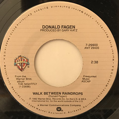 DONALD FAGEN:I.G.Y.(LABEL SIDE-B)