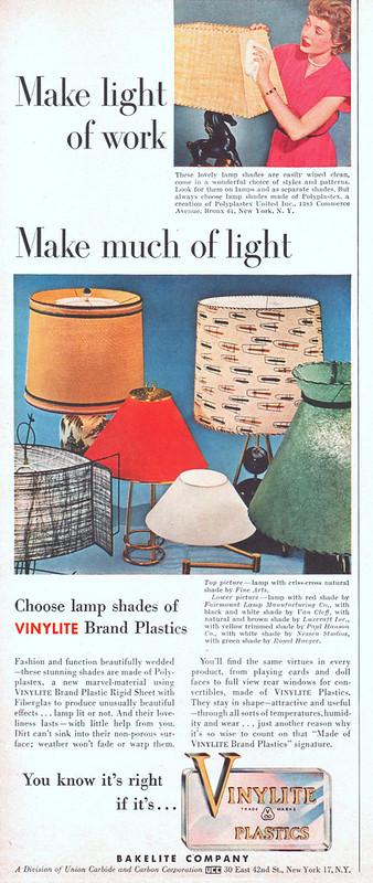 Vinylite 1951