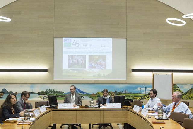 CFS 45 - Side Event 085: Improving Agricultural Investment Contracts and the Contracting Process