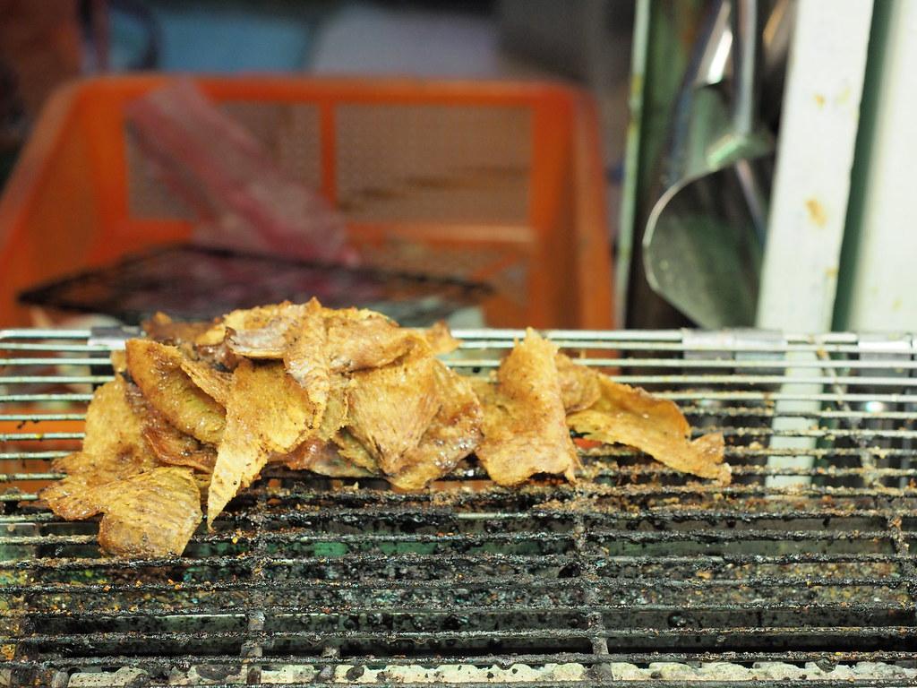 Grilled Squid at Yeh Liu Geo Park Market