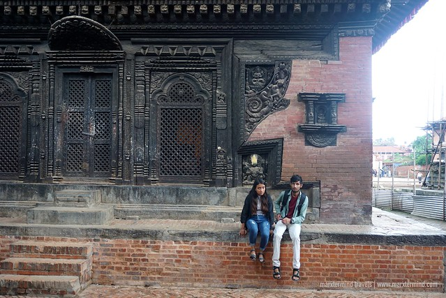 Local Tourists in Bhaktapur