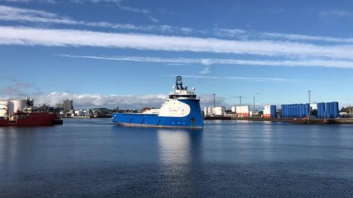 NAO Guardian - Aberdeen Harbour Scotland - 21/10/18