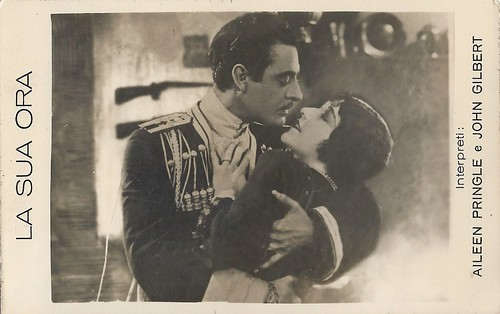 John Gilbert  and Aileen Pringle in His Hour (1924)