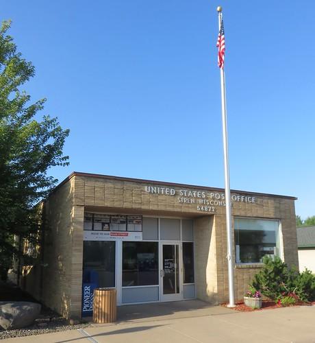 Post Office 54872 (Siren, Wisconsin)