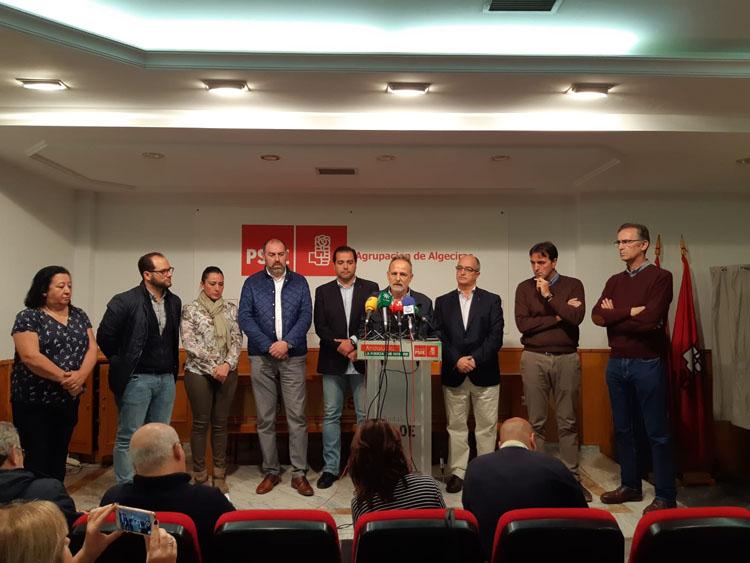 El PSOE respalda a Ruiz Boix y exige a Romero que retire la propuesta de declararlo persona non grata