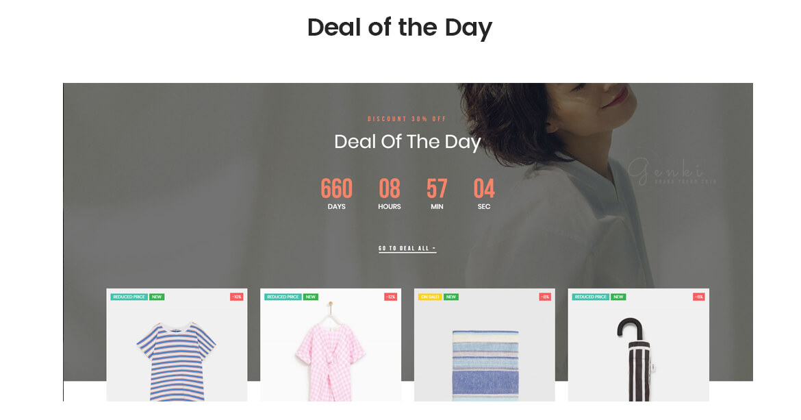 deal of the day - best fashion template