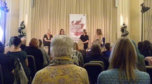 Caroline Mitchell, Ruth Ware, Mel McGrath and Alexandra Sokoloff