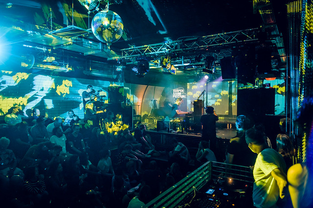 Yellow Lounge x Reeperbahn Festival 2018 mit Joep Beving und Peter Gregson