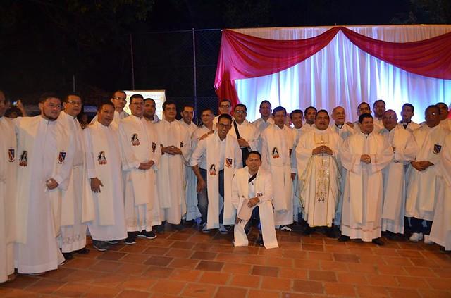 Visita de delegaciones a comunidades parroquiales