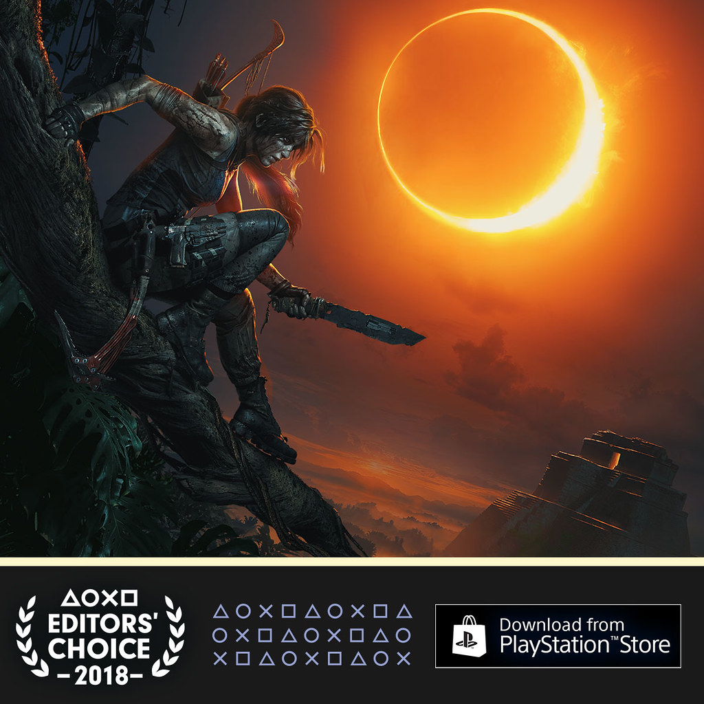 PlayStation Editor's Choice Q3 2018: Shadow of the Tomb Raider