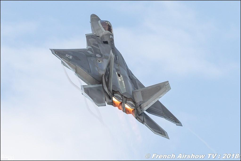 AFRC 70th Anniversary F-22 Raptor USAF EAA Oshkosh