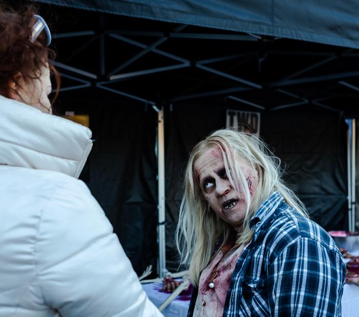 twd walking dead season 9 zombie maskeeraus