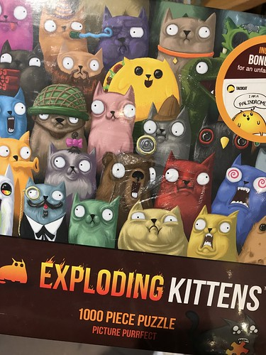 Toys at Mrs. Tiggy Winkle's (Exploding kittens puzzle!)