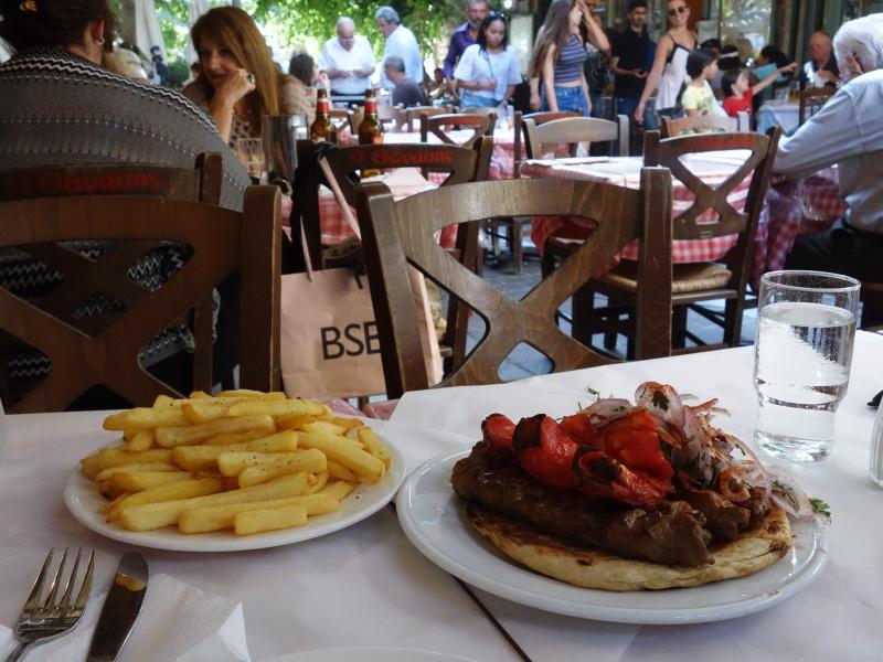 kebab in Athens