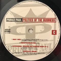PRINCE PAUL:POLITICS OF THE BUSINESS(LABEL SIDE-C)