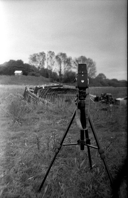 A Mamiya in the field