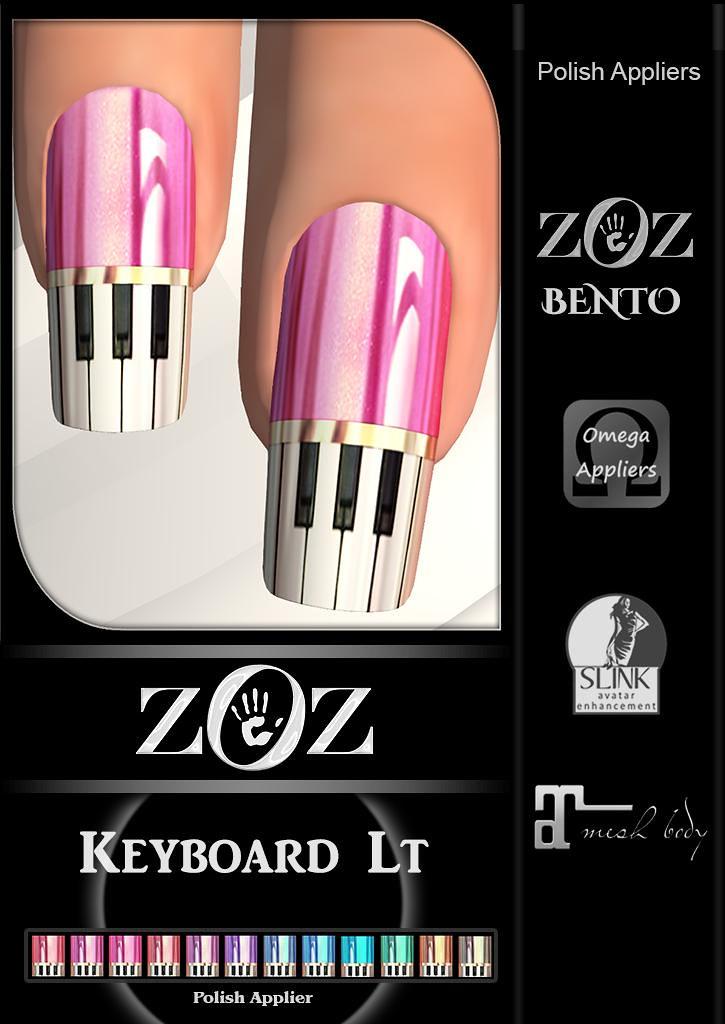 {ZOZ} Keyboard Lt Pix L - TeleportHub.com Live!