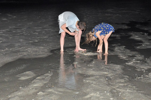 Nighttime Beach Walk