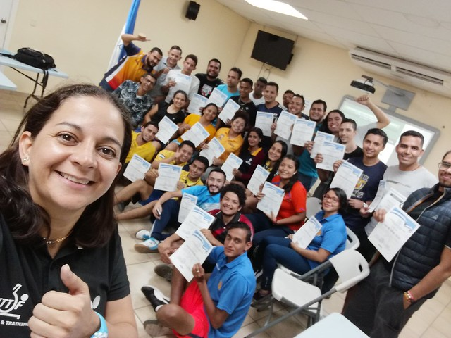 Tegucigalpa (Honduras) - 2018 ITTF ITTF-PTT Coaching Course LEVEL 1