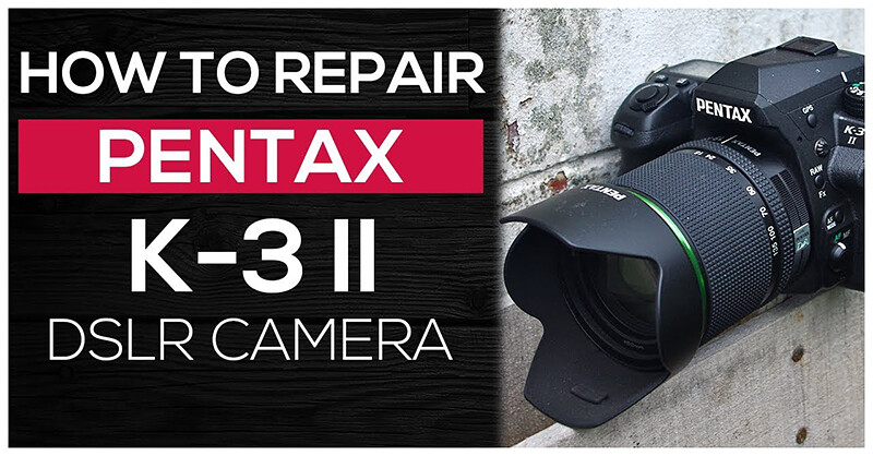How to repair PENTAX K-3 II | Live view function not working