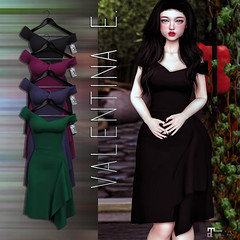 NEW!  Valentina E. Jennifer Dress @ The Chapter Four!
