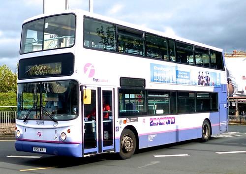 KP51 WBJ 'First West Yorkshire' No. 32079 'Bradford'. Volvo B7TL / Alexander ALX 400 on Dennis Basford's railsroadsrunways.blogspot.co.uk'