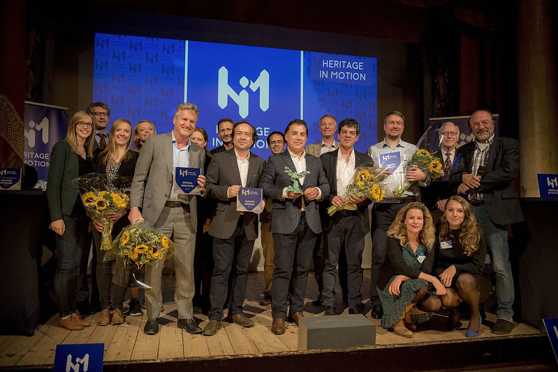 Winners of the Heritage in Motion Awards 2018