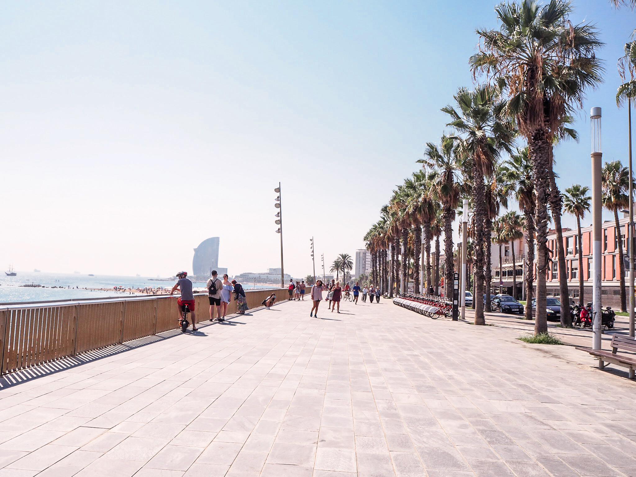 Barceloneta rantabulevardi