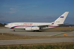 RA-96018 Ilyushin Il-96 Rossiya Special Flight @ Geneva GVA LSGG