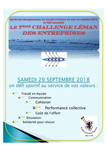 challenge leman entreprises 2018_programme de la journee