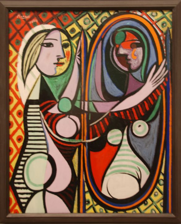 110 DSC_4302PicassoMonday14March1932ParisGirlBeforeAMirrorOilPaintOnCanvasTheMuseumOfModernArtNewYork