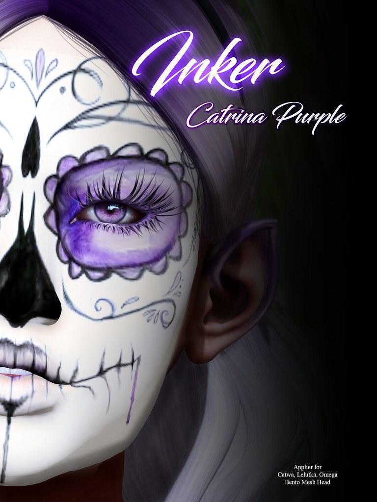 ..:: INKer ::.. Purple Catrina Mask - TeleportHub.com Live!