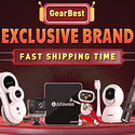 Gearbest Exclusive Brands Sale $10 for 3 Save up to 50% off