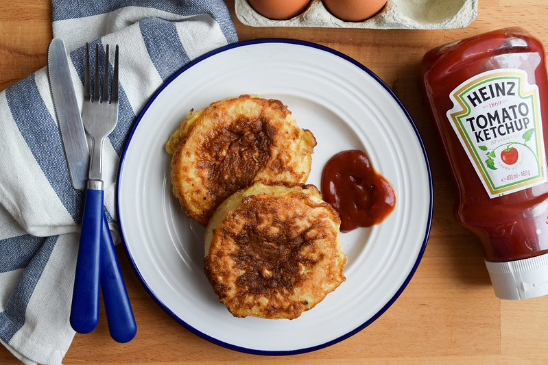 Eggy Bread with Crumpets