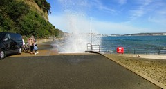 STORMY SEAS ON A SUNNY DAY