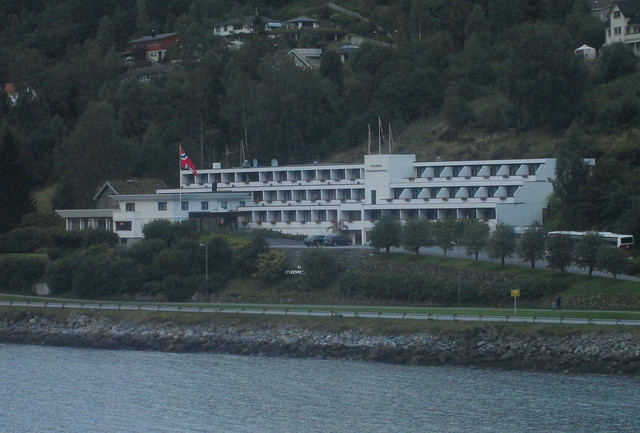 Art Deco/Moderne Style Hotel, Olden, Norway