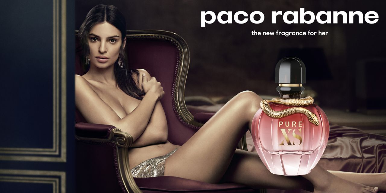 Emily Ratajkowski – Paco Rabannes Pure XS Perfume Campaign 2018