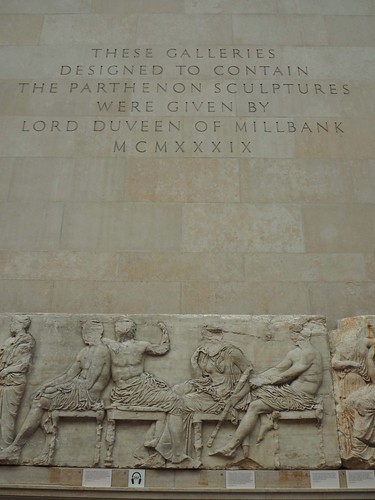 The Parthenon in the British Museum